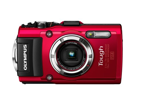 Olympus Stylus TOUGH TG-3 Digital Compact Camera - Red (16MP, 4x Wide Optical Zoom) 3 inch LCD