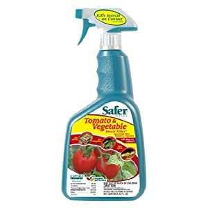 Safer Brand 32 oz Ready To Use Tomato & Vegetable Insect Killer 5087 (2 Pack)