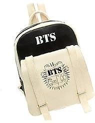 Ruotong Accessory BTS--Backpack Bangtan Boys Casual Preppy School Bag