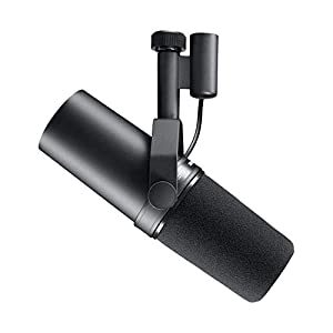 Shure SM7B Vocal Dynamic Microphone for Broadcast, Podcast & Recording, XLR Studio Mic for Music & Speech, Wide-Range…