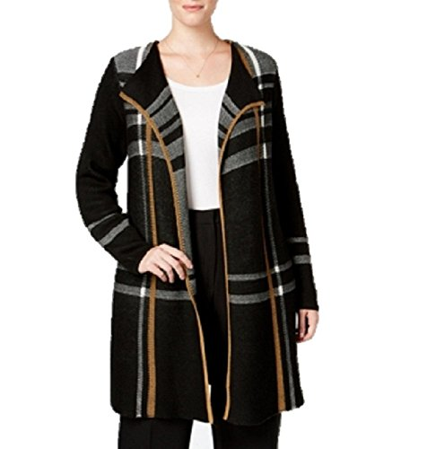 Charter Club Plus Size Plaid Duster Cardigan 2X