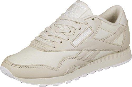 Reebok CL Nylon PJ W W W Schuhe stucco/Weiß da9358