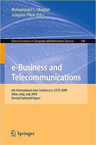 e-Business and Telecommunications: 6th International Joint