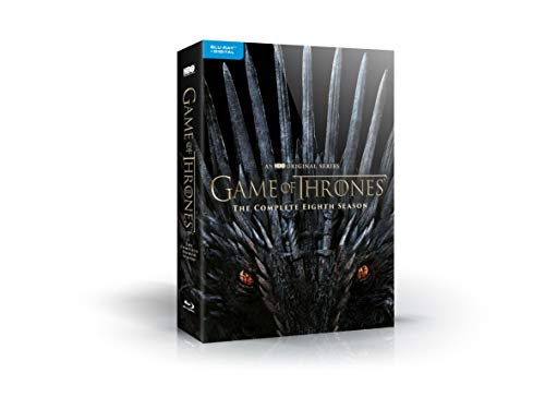 Game of Thrones: S8 (Bluray + Digital Copy) [Blu-ray] (1 Paperwhite)