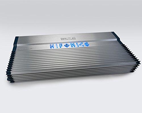 (Hifonics BXX3000.1D Brutus Class D 3000W RMS 1 Ohm Mono Car Subwoofer Amplifier)