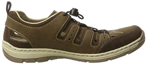Rieker Men's 15256 Low-Top Sneakers, Brown (Brown), 6.5 UK Brown (Cigar/Zimt / 25)
