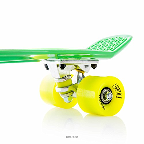 EIGHTBIT 22 Inch Complete Skate Board - Retro Skateboard - Poison / Vibe