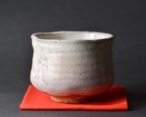 美濃粉引茶碗(木箱付) 作家「林隆一郎」   B00IE5ANPK