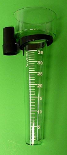 Regenmesser Niederschlagsmesser Aus Kunststoff Mit Stockhalter