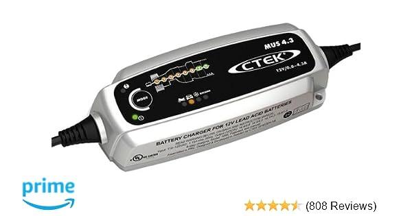 CTEK MXS 5.0 12v Car Bike Caravan Smart 8 Step Fully Automatic Battery Charger
