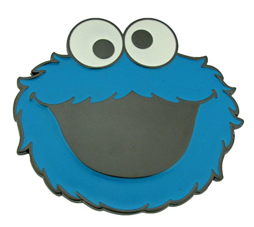 Sesame Street Cookie Monster Metal Belt Buckle