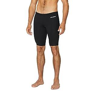 Baleaf Men's Durable Training Polyester Jammer Swimsuit