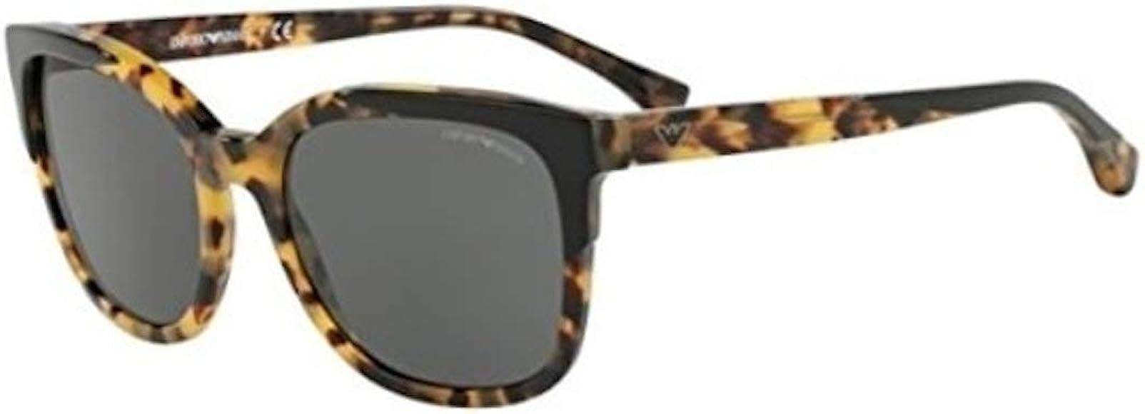 Emporio Armani 0EA4119 Gafas de sol, Top Black On Havana, 54 ...