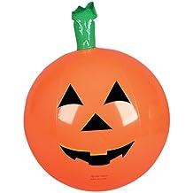 "Rhode Island Novelty One Halloween Inflatable Pumpkin Jack O Lantern Beach Ball - 16"""