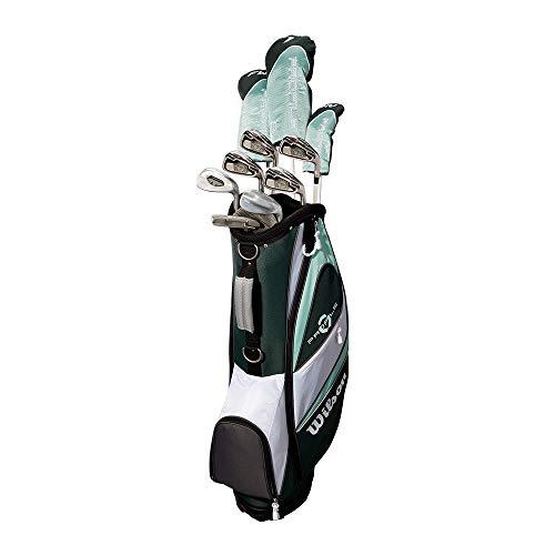 Wilson Profile XLS Women's RH Flex Graphite Golf Club Package Set with Bag, Teal