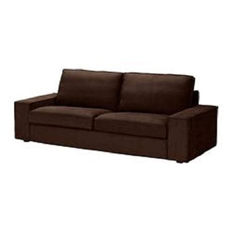 Amazon.com: IKEA KIVIK sofá Slipcover Funda Tullinge café ...