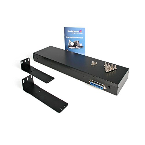StarTech.com 1U 17'' Rackmount LCD Console with 8 Port Multi-Platform KVM - KVM Console  1U Rack Mount with 17in LCD by StarTech (Image #3)