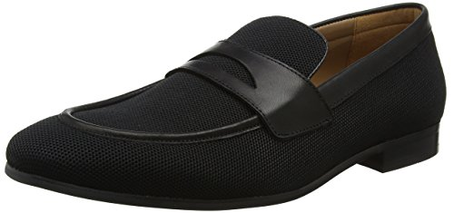 Madden Uomo Black Nero 01001 Mocassini Enmeshed Loafer Steve dx1Iqn6pwd