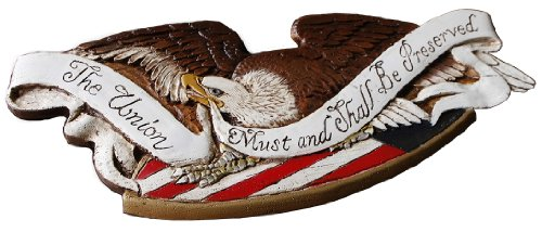 Patriotic United States Eagle Plaque ()
