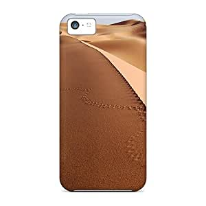 Waterdrop Snap-on Sand Sea Case For Iphone 5c