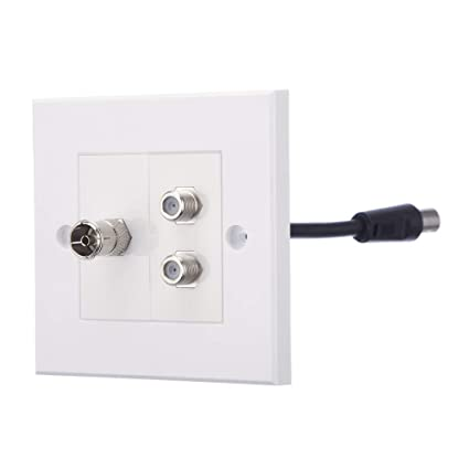 Outstanding Computer Spares Tv Aerial F Type Satellite Faceplates Wall Wiring Digital Resources Jebrpkbiperorg
