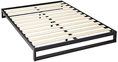 Zinus 7 Inch Heavy Duty Low Profile Platforma Bed Frame/Mattress Foundation/Boxspring Optional/Wood Slat Support