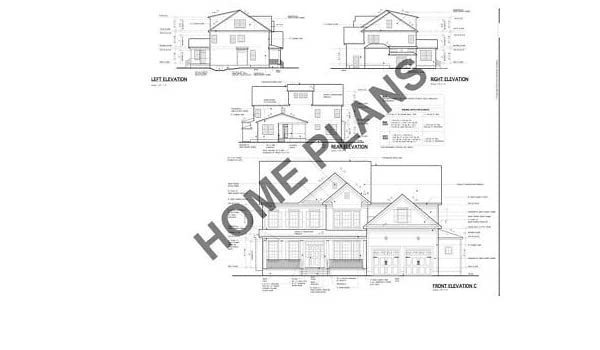 Amazon com: Home Plans Full Custom Home/House Architectural