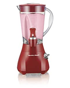 Hamilton Beach Wavestation Express Dispensing Smoothie Blender with 48-Ounce Jar, Red (54618)