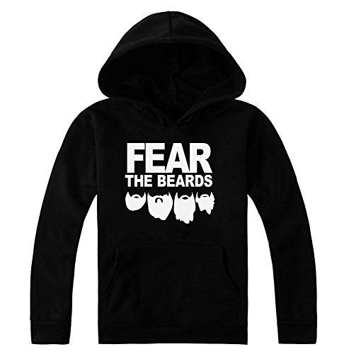 Fear The Beards Artwork Women's Hoodie Pullover