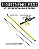 Sea Stinger 80' Lightning Rod 2 Piece Pole Spear with Travel Tube