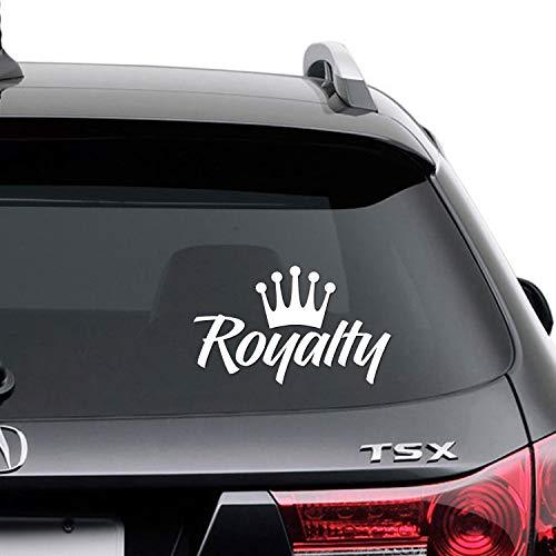 Royalty Crown Racing Slammed Drift JDM Vinyl Decal Sticker RT-01