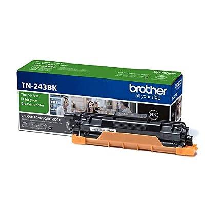 Brother TN243BK - Cartucho de tóner negro original, para las impresoras HLL3210CW, HLL3230CW, HLL3270CW, DCPL3510CW, DCPL3550CW, MFCL3710CW, ...