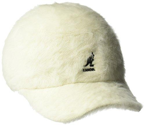 Kangol Men's Furgora Spacecap Baseball Cap, Cream, S/M