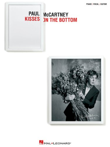 Hal Leonard Paul Mccartney - Kisses On The Bottom for Piano/Vocal/Vocal PVG (All Of Me Piano Sheet Music With Letters)