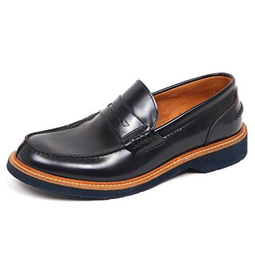 Loafer Mocassino Shoe E4624 Scarpe Dark Scuro Blu Man Blu Uomo SEBOY'S Ypw5qq