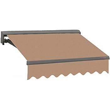 Amazon Com Aleko 12x10 Feet Retractable Home Patio