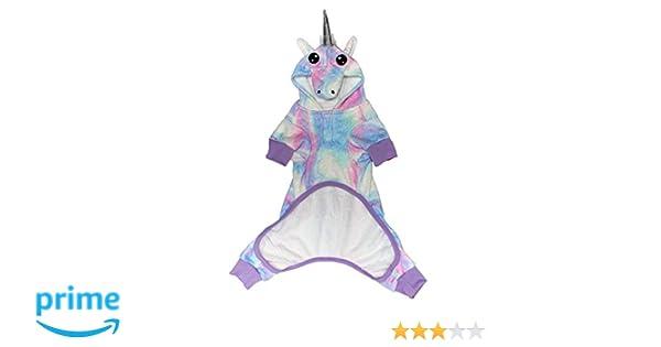 25950d342 Pet Supplies   Laur DIY PET Onesie - The Unicorn - LAURDIY Most Adorable Dog  Pajama Outfit