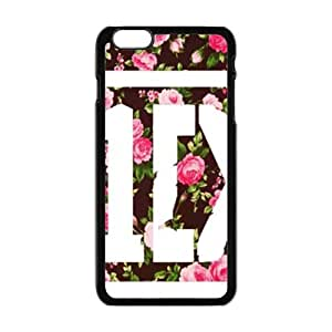 Happy Beautiful pink flowers Cell Phone Case for Iphone 6 Plus