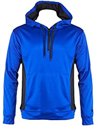 Mens Quarter Zip Fleece Hoodie With Kangaroo Pockets (See More Colors and Sizes)