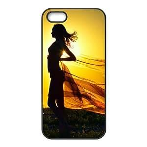 Fashion sunshine Personalized iPhone 5 5S Rubber Silicone Case Cover