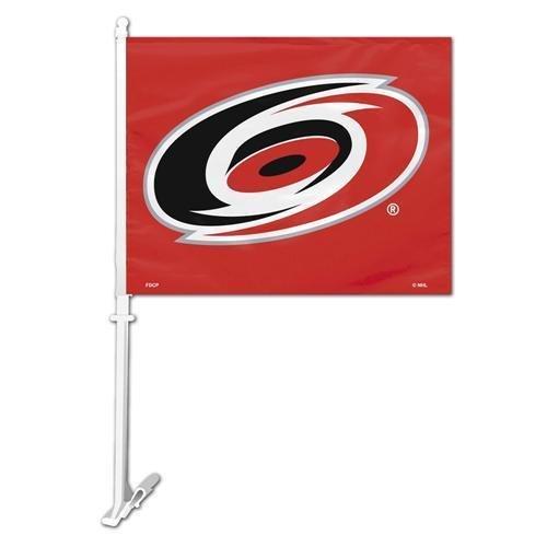 - NHL Carolina Hurricanes Car Flag with Wall Brackett