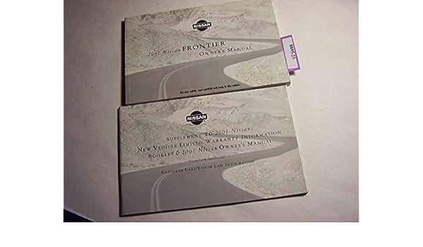 2002 frontier owner's manual.