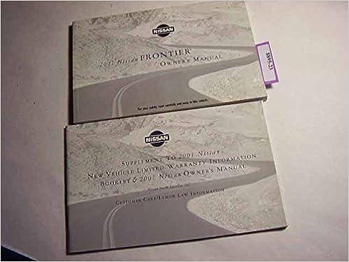 2001 nissan frontier service repair manual download.
