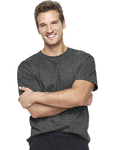 By Hanes Beefy-T Adult Short-Sleeve T-Shirt_Charcoal Heather_L ()