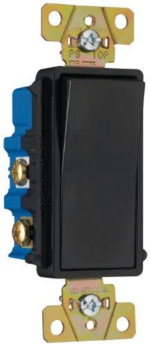 Pass & Seymour TM874BKCC6 Four-Way Decorator Switch 15-Amp 1
