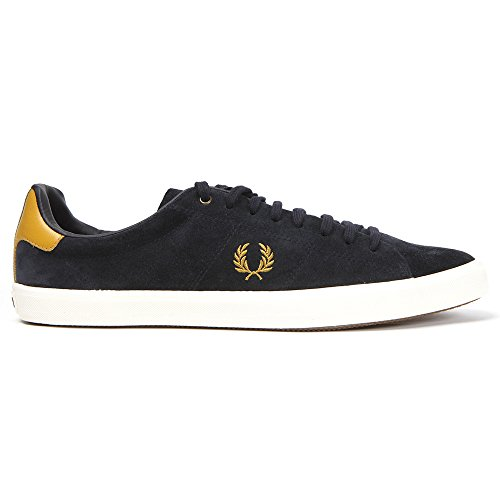 Fred Perry - Chaussures - Bleu Marine - Howells Unlined Suede Taille 42