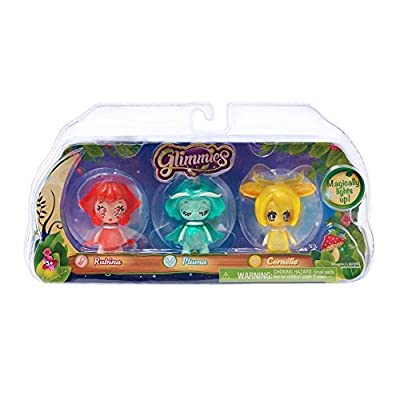 Just Play Glimmies Collector Pack- Rubina, Pluma, Cornelie: Toys & Games