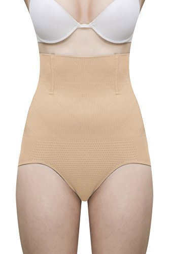 28ad68ec5d LACE AND ME Laceandme Magic Wire No Rolling Down Tummy Tucker Women s  Shapewear (Free Size) Free 4 Pcs Wooden Cloth Clips