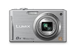 "Panasonic Lumix DMC-FS35EG-S - Cámara digital compacta 16 MP (Zoom 8x, lcd 2,7"", 28 mm, Leica, IA, OIS, Slim compact body) - plateado"