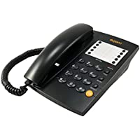 TruVoice Agent 1000 Business Analog Landline Phone Black - (Includes Headset Port and 10 x Memory Keys)